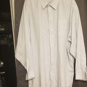 Jos. A. Bank big & tall men's shirt size 20/36